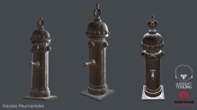 A small Water Fountain I made for an assignment. I might create a bit more stuff like that in the future.